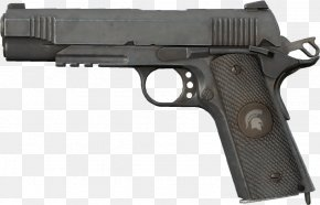 Weapon - M1911 Pistol Colt's Manufacturing Company .45 ACP Firearm PNG
