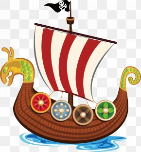 Vector Cute Pirate Ship - Piracy Euclidean Vector Royalty-free Illustration PNG