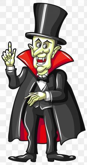Haunted Vampire Clipart Image - Vampire Halloween Clip Art PNG