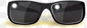 Sunglasses - Sunglasses Goggles Lens PNG