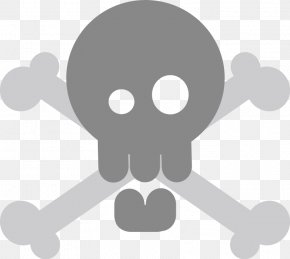 Evil Skull - Skull And Bones Skull And Crossbones Human Skull Symbolism Clip Art PNG