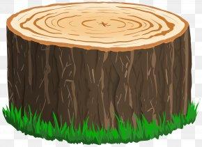 Tree Stump Clipart Image - Tree Stump Clip Art PNG