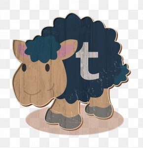 Cartoon Tumblr Icon - Sheep Icon Social Network Icon Tumblr Icon PNG