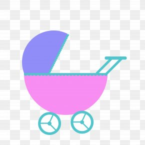 Baby Buggy Cliparts - Baby Transport Infant Baby Shower Clip Art PNG