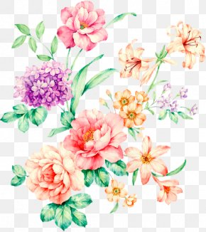 Flower - Flower Watercolor Painting Drawing PNG