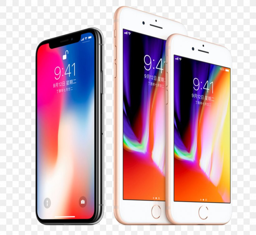 IPhone 8 IPhone X IPhone 4 Apple Watch Series 3 Smartphone, PNG, 937x861px, Iphone 8 Plus, Apple, Communication Device, Electronic Device, Face Id Download Free