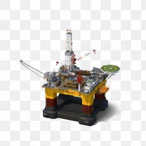 Oil Rig - Oil Platform Petroleum Industry PNG