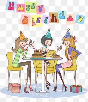 Happy Birthday Celebration - Birthday Cake Happy Birthday To You Party Clip Art PNG