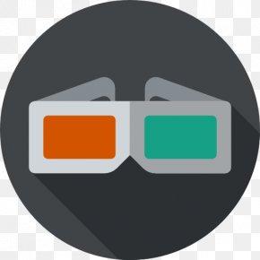 Glasses - Cinema 3D Film Polarized 3D System PNG