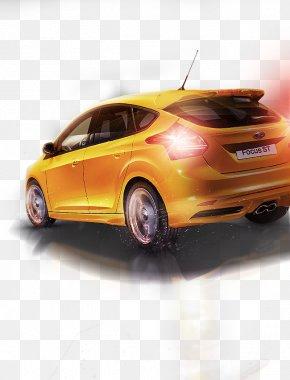Automotive Lighting Effects - Mid-size Car Light Compact Car Automotive Design PNG