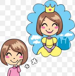 Girl's Princess Dream - Royalty-free Free Content Dream Clip Art PNG