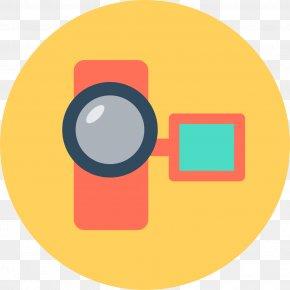 Cartoon HD Camera Icon - Video Camera Icon PNG