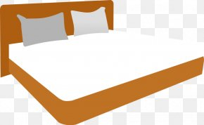 Bed Cliparts - Bedroom Bed Size Clip Art PNG