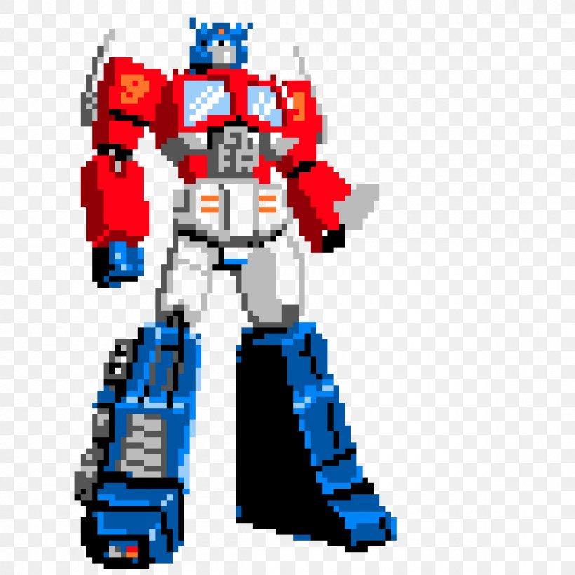 Optimus Prime Bumblebee Transformers Autobots Pixel Art Clip