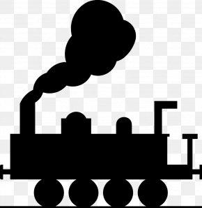 Steam Train Cliparts - Train Rail Transport Steam Locomotive Clip Art PNG