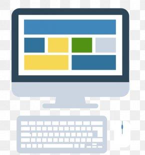 Vector Computer Monitor Keyboard - Computer Keyboard Computer Monitor PNG
