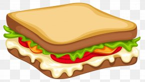 Sandwich Clipart Vector Image - Hamburger Chicken Sandwich Egg Sandwich Submarine Sandwich Cheese Sandwich PNG