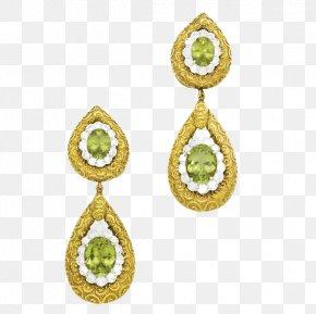 Peridot Jewelry - Earring Gemstone Body Piercing Jewellery Human Body PNG