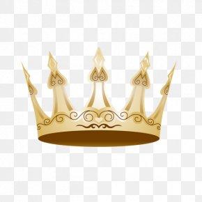 Golden Crown Vector Logo - Crown Of Queen Elizabeth The Queen Mother Clip Art PNG