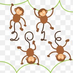 2016 Cartoon Monkey - Monkey Clip Art PNG