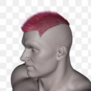 Mohawk - Chin Eyebrow Forehead Hairstyle Cheek PNG