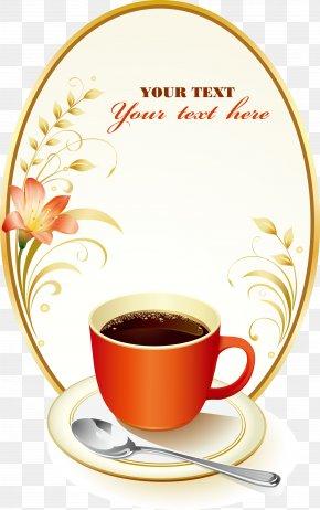 Floral Decoration Cafe Menu - Coffee Cafe Tea Espresso Menu PNG