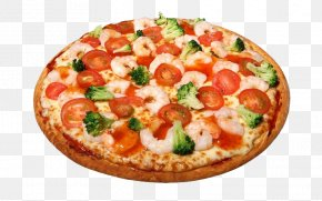 Pizza - Pizza Margherita Seafood Pizza Italian Cuisine PNG