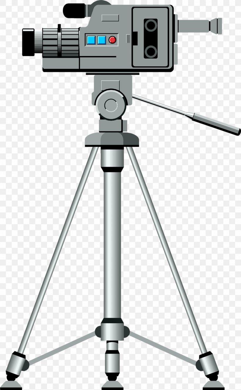 Video Camera Tripod Clip Art, PNG, 958x1545px, Video Camera, Camcorder, Camera, Camera Accessory, Digital Slr Download Free