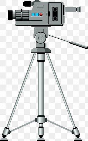 Video Camera Transparent Images - Video Camera Tripod Clip Art PNG