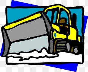 Snow Plow Clipart - Snowplow Plough Snow Removal Clip Art PNG