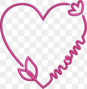 Magenta Love - Heart Pink Love Heart Magenta PNG
