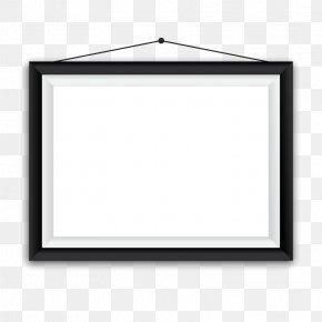 Vector Black Frame - Picture Frame Euclidean Vector PNG