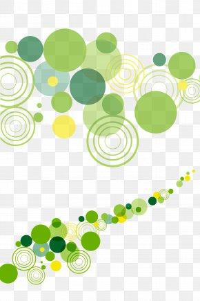 Green Circles Background - Circle Stars Gratis Computer File PNG