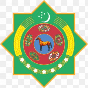 Symbol - Emblem Of Turkmenistan Turkmen Soviet Socialist Republic Flag Of Turkmenistan Coat Of Arms PNG