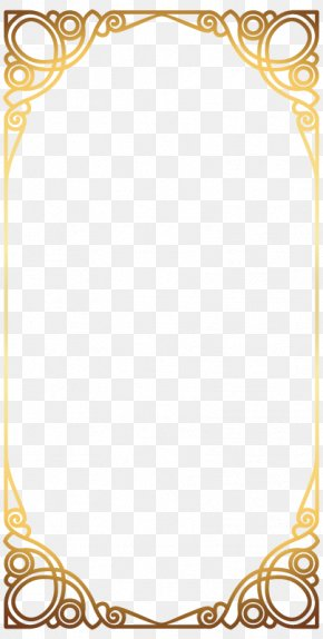 Gold Jewelry Industry Atmospheric Square Border - Jewellery Gold Icon PNG