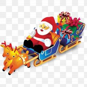 Santa Gifts - Santa Claus's Reindeer Santa Claus's Reindeer Christmas Gift PNG
