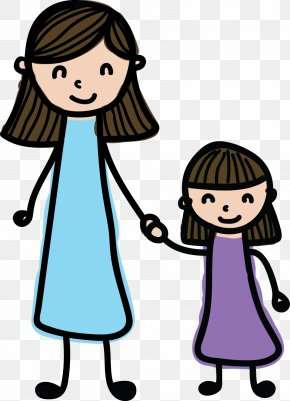 Mother - Mother's Day Daughter Child Clip Art PNG