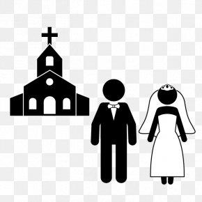 Wedding Illustration - Highland Presbyterian Church Christian Church PNG