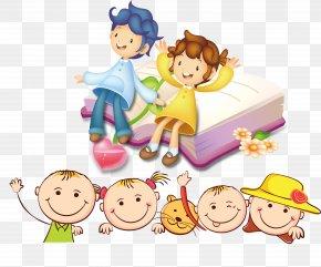 Cute Kids Cartoon - Child Cartoon Clip Art PNG