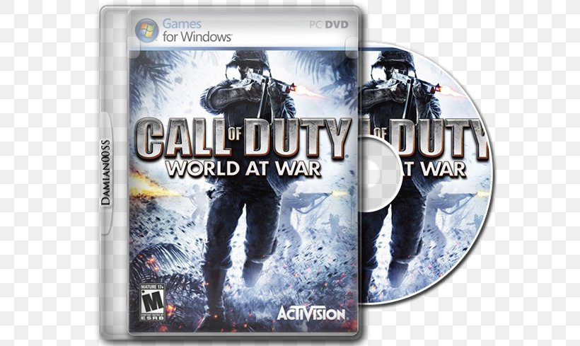 Call Of Duty: World At War Call Of Duty: Black Ops Call Of Duty: Zombies Call Of Duty: WWII Call Of Duty 4: Modern Warfare, PNG, 650x489px, Call Of Duty World At War, Activision, Call Of Duty, Call Of Duty 4 Modern Warfare, Call Of Duty Black Ops Download Free