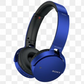 Sony Bluetooth Headset Bass - Noise-cancelling Headphones Bluetooth Headset Wireless PNG