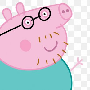 Daddy Pig - Daddy Pig Mummy Pig Television Show PNG