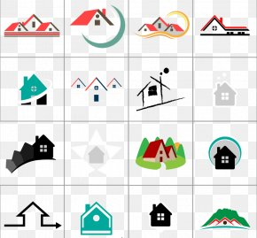 16 Of The Real Estate Logo Design Vector Material - Logo House Real Estate Euclidean Vector Icon PNG