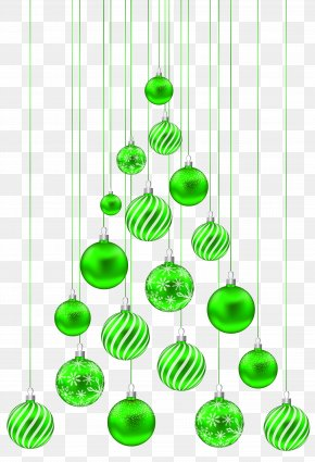 Christmas Balls Tree Transparent Clip Art Image - Christmas Day Clip Art PNG