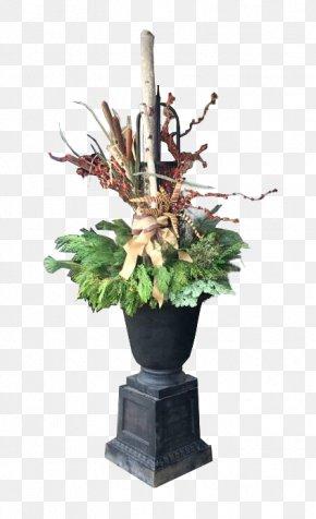 Paint Pot - Floral Design Flowerpot Flower Bouquet Wreath PNG