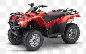 Honda - Honda TRX 420 Car All-terrain Vehicle Four-wheel Drive PNG