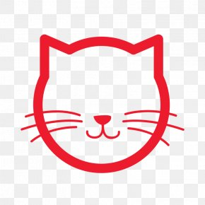 Outline Of Cat - Cat Cartoon Clip Art PNG