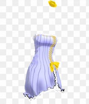 Dress - Dress Clothing Miniskirt Model MikuMikuDance PNG