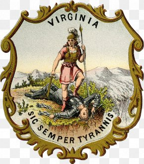 Coat Of Arm - Historical Coats Of Arms Of The U.S. States From 1876 Colony Of Virginia Jamestown Flag And Seal Of Virginia Coat Of Arms PNG