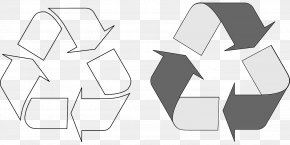 Recycle Paper - Paper Recycling Symbol Zero Waste PNG